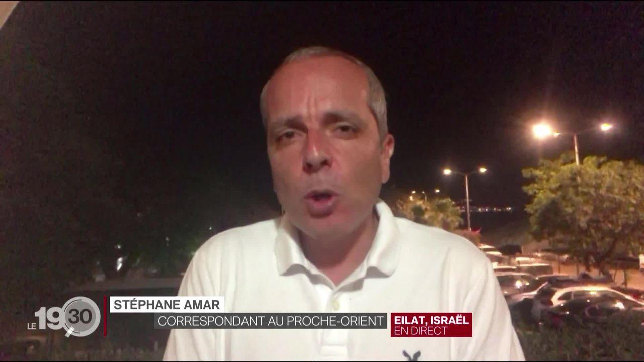 Accord de paix entre Israël et les Emirats: les explications de Stéphane Amar [RTS]