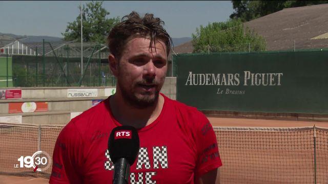 Stan Wawrinka ne fera pas le déplacement à New York pour participer à l'US Open à l'instar d'autres stars du tennis [RTS]