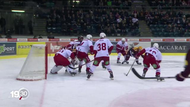 Les annonces d'Alain Berset satisfont le monde du hockey sur glace et du football. [RTS]