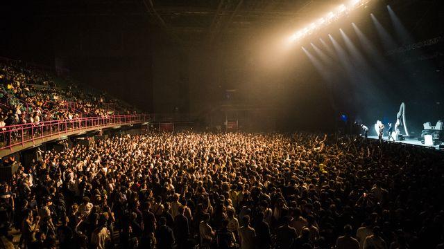 Le public de The Beat Festival à l'Arena de Genève, le 26 janvier 2019. [Adrien Perritaz - KEYSTONE]