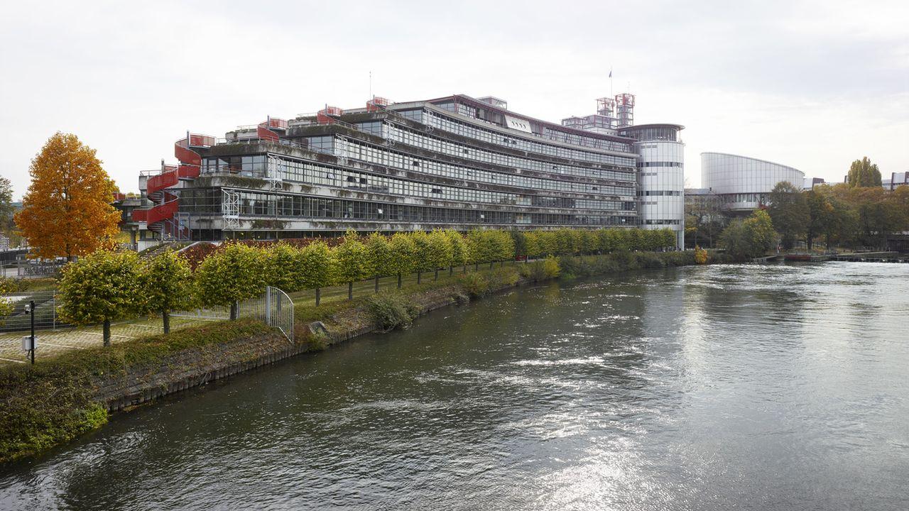 La Cour européenne des droits de l'homme à Strasbourg. [Christian Beutler - Keystone]