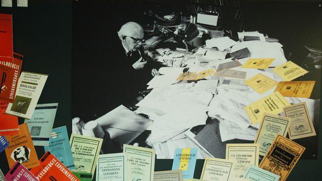 Exposition Jean Piaget [Jacques Erard - Université de Genève]