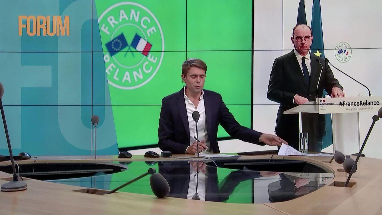 Le plan de relance à 100 milliards d'euro de la France fait la part belle à la transition écologique [RTS]
