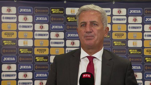 Groupe A, Ukraine - Suisse (2-1): interview d'après match de Petkovic [RTS]