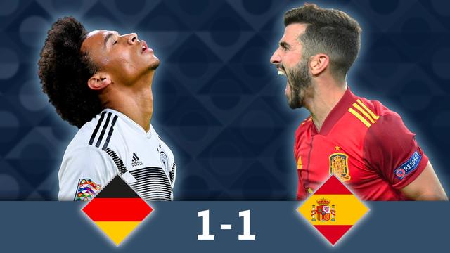 Groupe A, Allemagne - Espagne (1-1): les Espagnols égalisent en tout fin de match