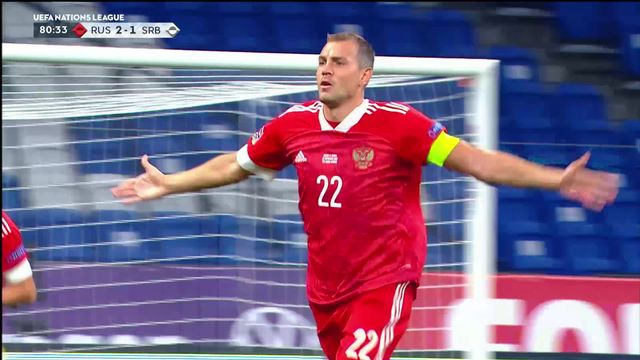 Gr.3, Russie - Serbie (3-1): les Russes s'imposent [RTS]