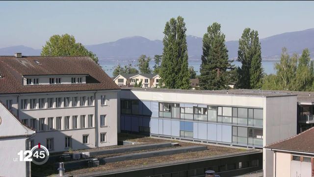 L'eau du lac de Neuchâtel pour chauffer l'hôpital d'Estavayer-le-lac ainsi qu'un EMS voisin [RTS]