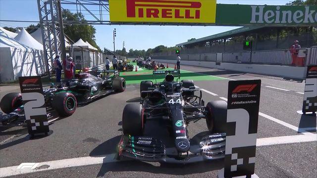 GP de Monza (#8), Q3: Lewis Hamilton (GBR) partira en pole devant Bottas (FIN) et Sainz (ESP) [RTS]