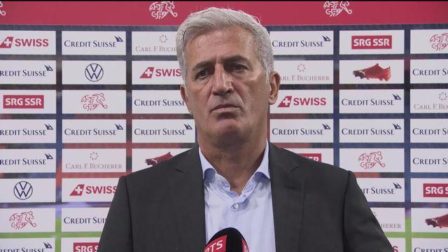Gr.4, Suisse - Allemagne (1-1): première réaction de Vladimir Petkovic [RTS]