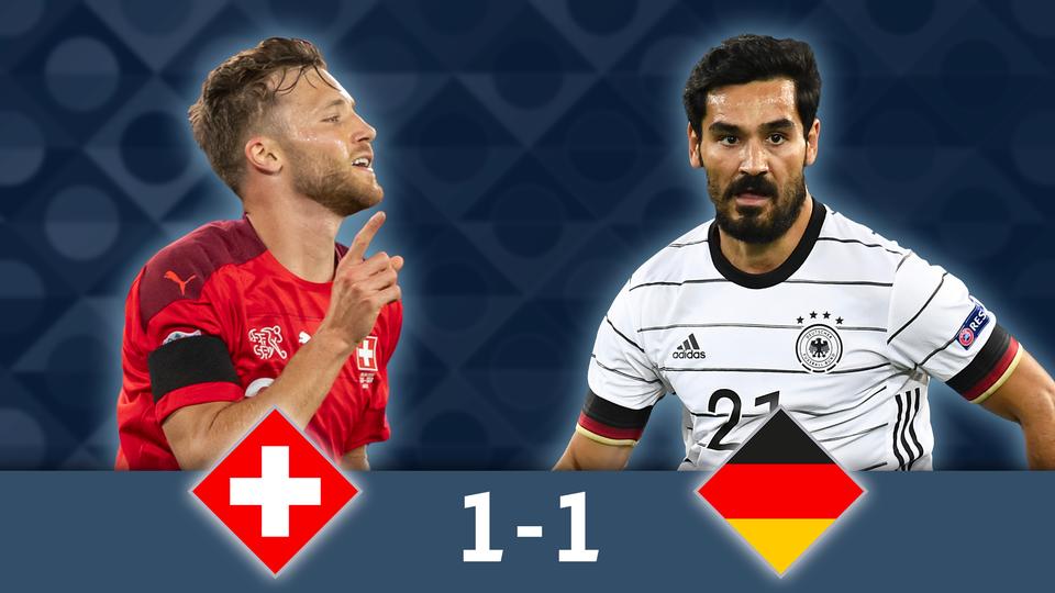 Gr.4, Suisse - Allemagne (1-1): une Suisse très séduisante tient tête à la Mannschaft