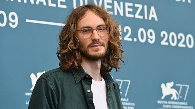 Le réalisateur suédois Nathan Grossman à la Mostra de Venise le 4 septembre 2020. [Alberto PIZZOLI - AFP]