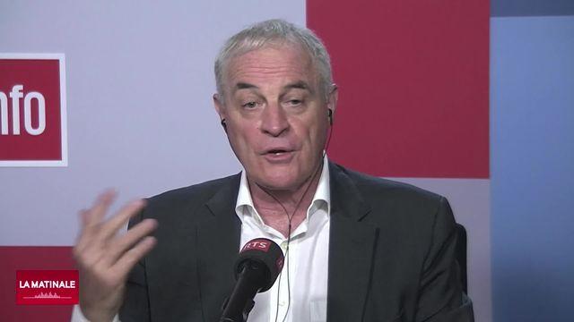 Didier Pittet, chef du service de prévention et contrôle de l'infection (HUG) (vidéo) [RTS]