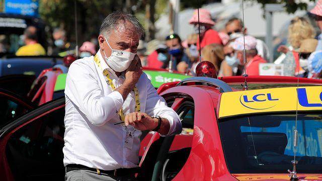 Francois Lemarchand remplace le directeur du Tour de France François Prudhomme, testé positif au Covid-19. [Thibault Camus - AP via Keystone]