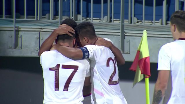 """U21, Slovaquie - Suisse (1-2): menés, les """"Rougets"""" renversent la vapeur dans les dernières minutes [RTS]"""