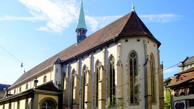 L'Église française de Berne. [Krol:k - WikiCommons CC-BY-SA 3.0]