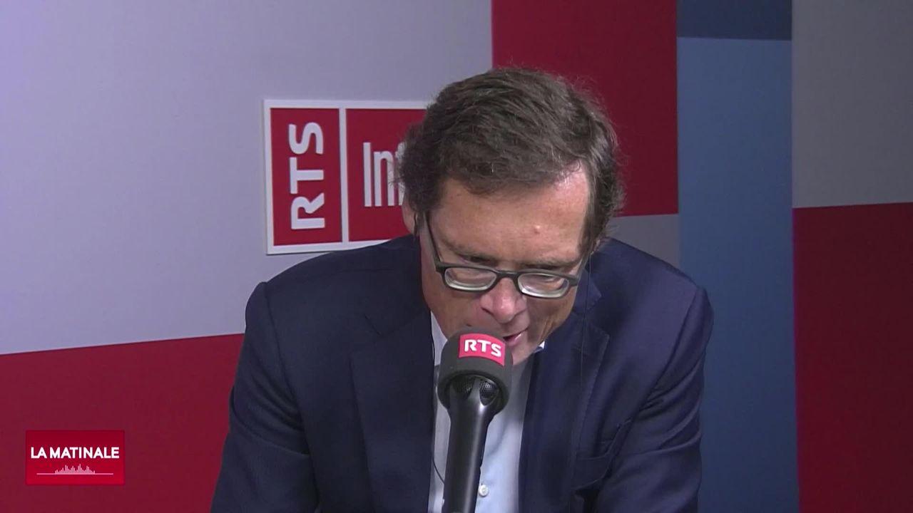 Interview de Roger Köppel, conseiller national zurichois UDC. (vidéo) [RTS]