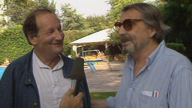 Rencontre avec Claude Goretta et Alain Tanner à la Mostra de Venise en 1987. [RTS]