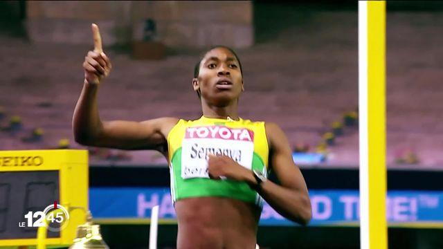 Le TF déboute l'athlète Caster Semenya. La coureuse sud-africaine refusait un traitement pour diminuer son taux de testostérone. [RTS]