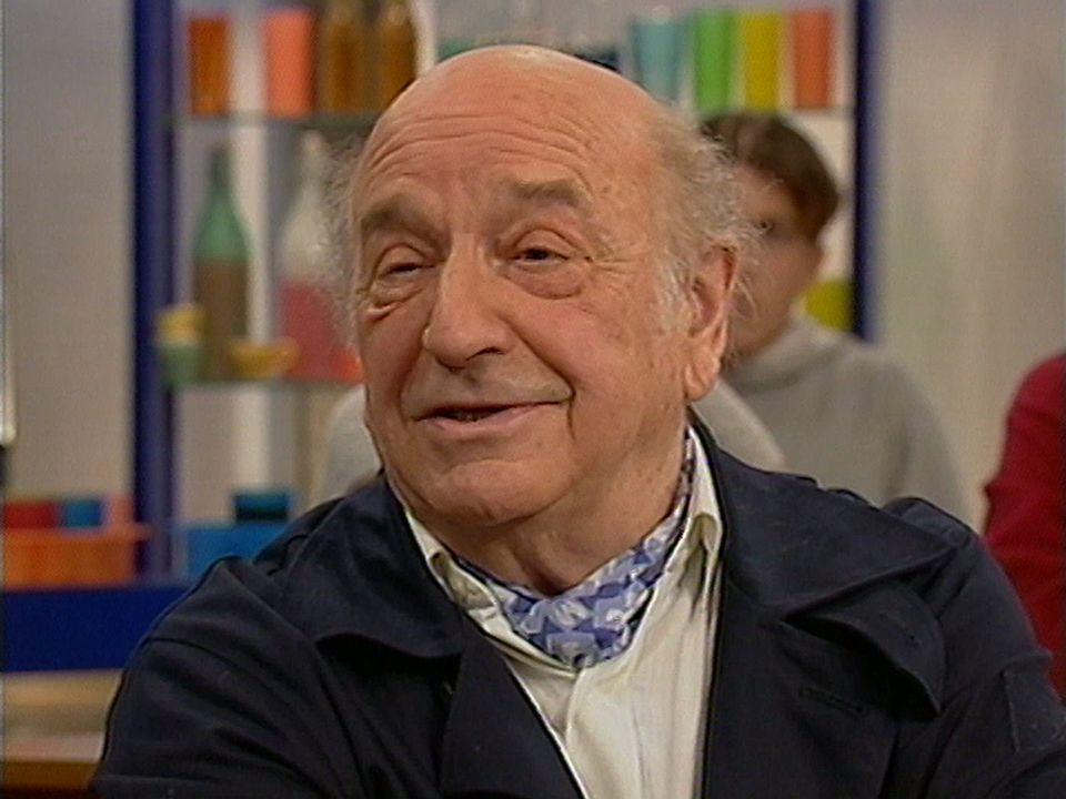 Le comédien Jean Vigny en 1999. [RTS]