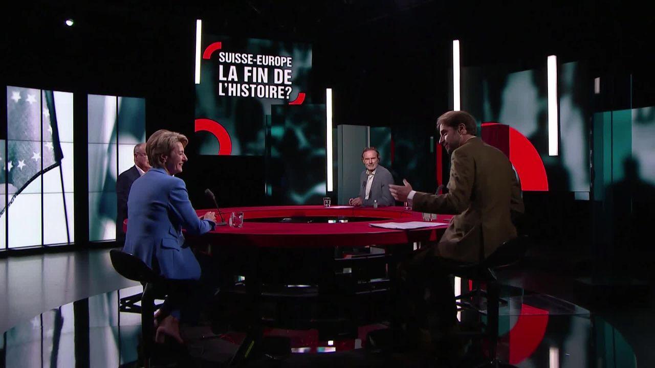 Suisse-Europe, la fin de l'histoire? [RTS]