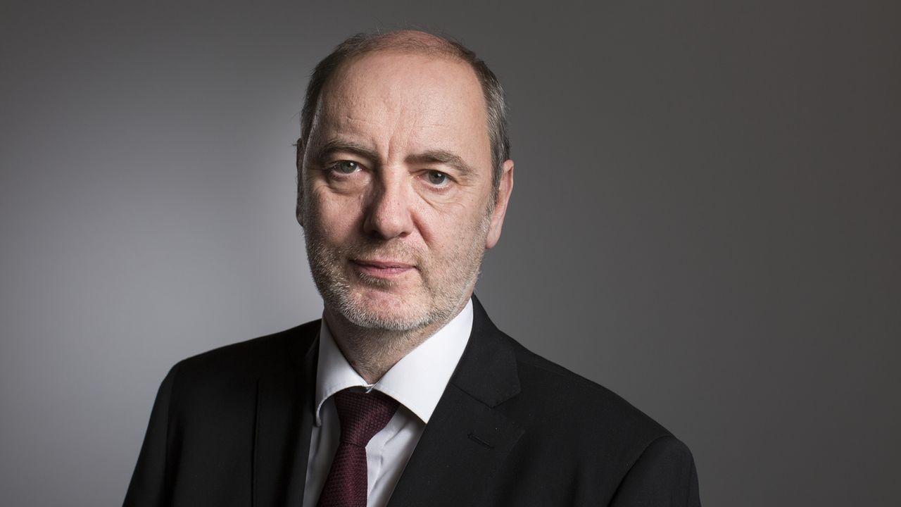 Le juge fédéral Yves Donzallaz, photographié en 2015. [Gaetan Bally - Keystone]