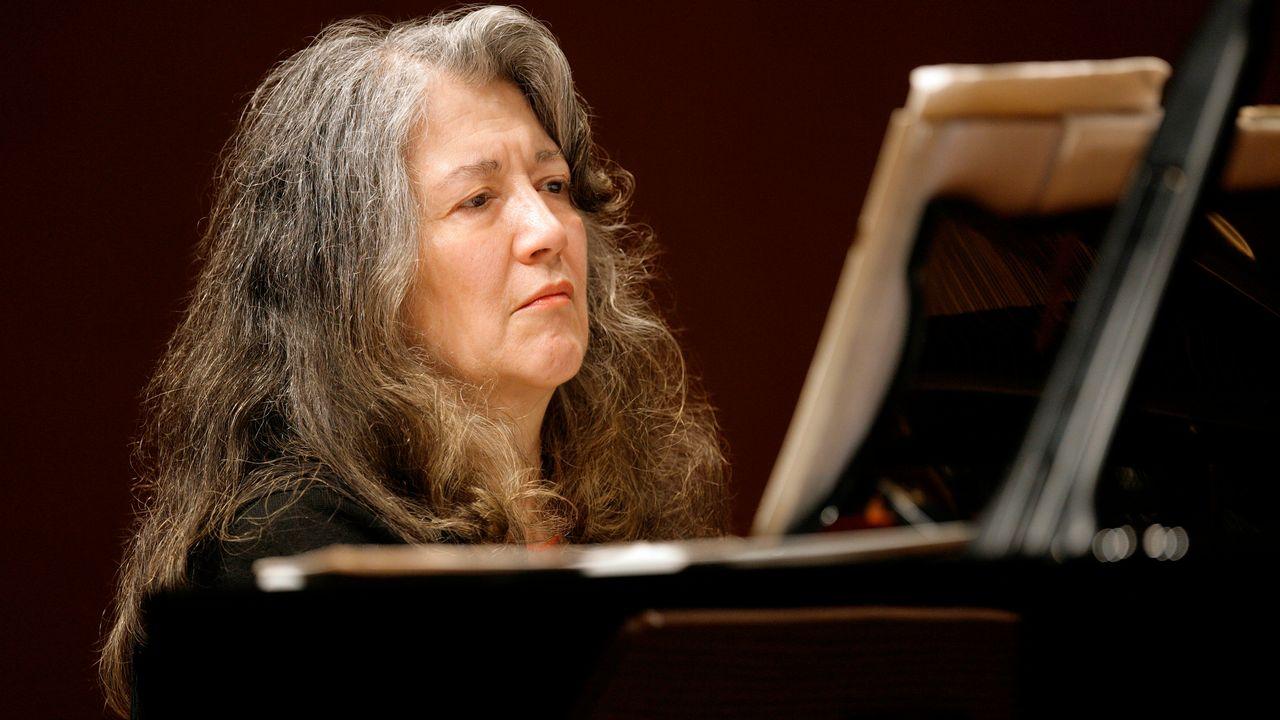 La pianiste Martha Argerich en 2014. [Klaus Rudolph - RTS]