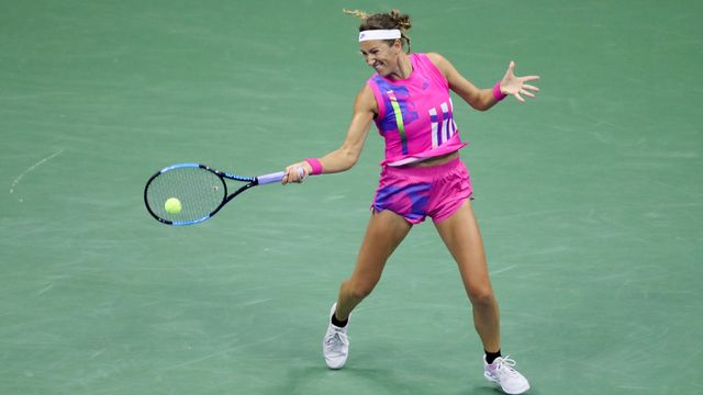 Victoria Azarenka, superbe finaliste de cet US Open 2020. [MATTHEW STOCKMAN - AFP]