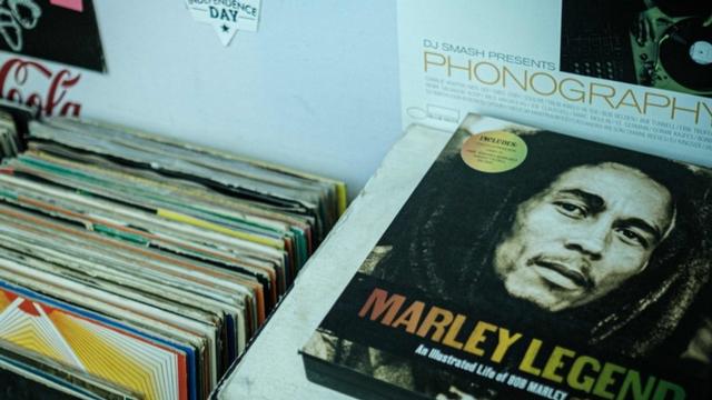 La vente de vinyles aux Etats-Unis a engendré un chiffre d'affaires de 232,1 millions de dollars en 2020.  [Yasuyoshi CHIBA - AFP]