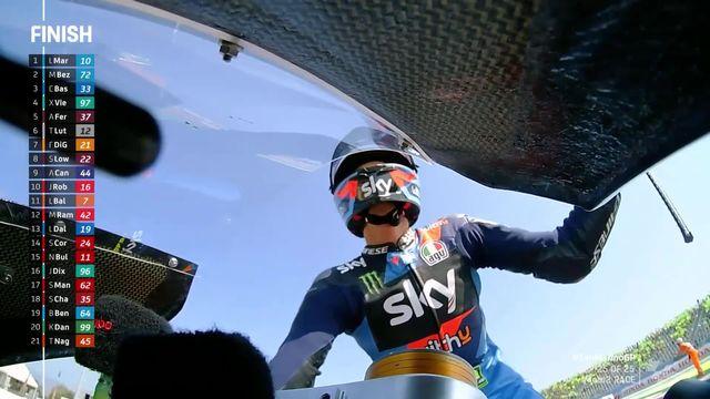 GP de Saint-Marin (ITA): victoire de Luca Marini (ITA), Luthi (SUI) termine en 6e position [RTS]