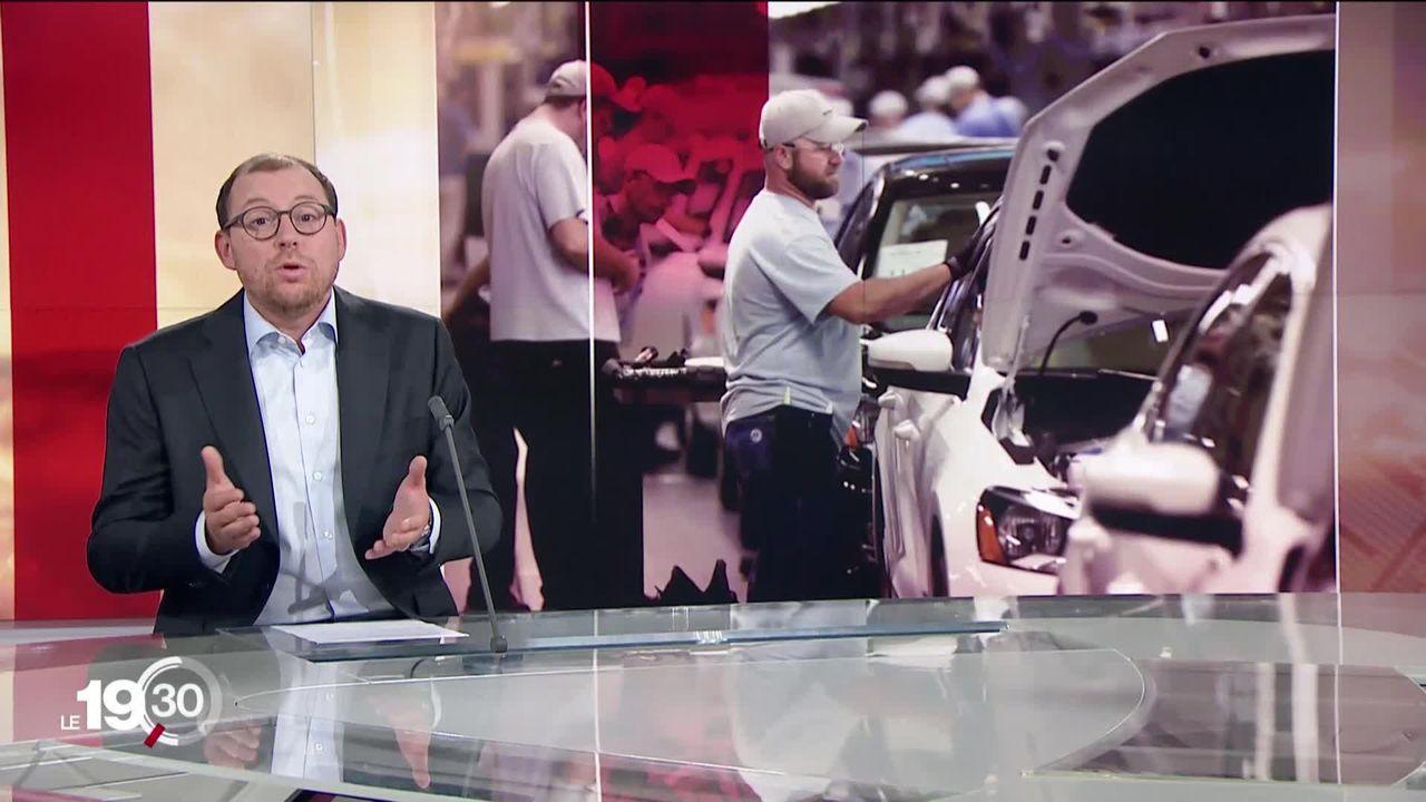 Antoine Silacci explique l'importance des swing states dans l'élection présidentielle américaine [RTS]