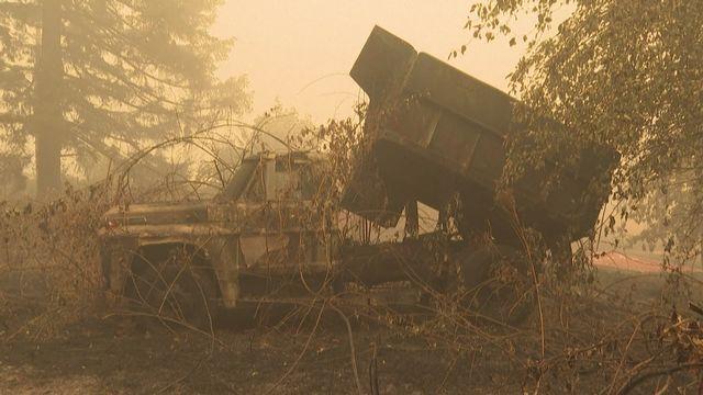 Incendies en Oregon [RTS]