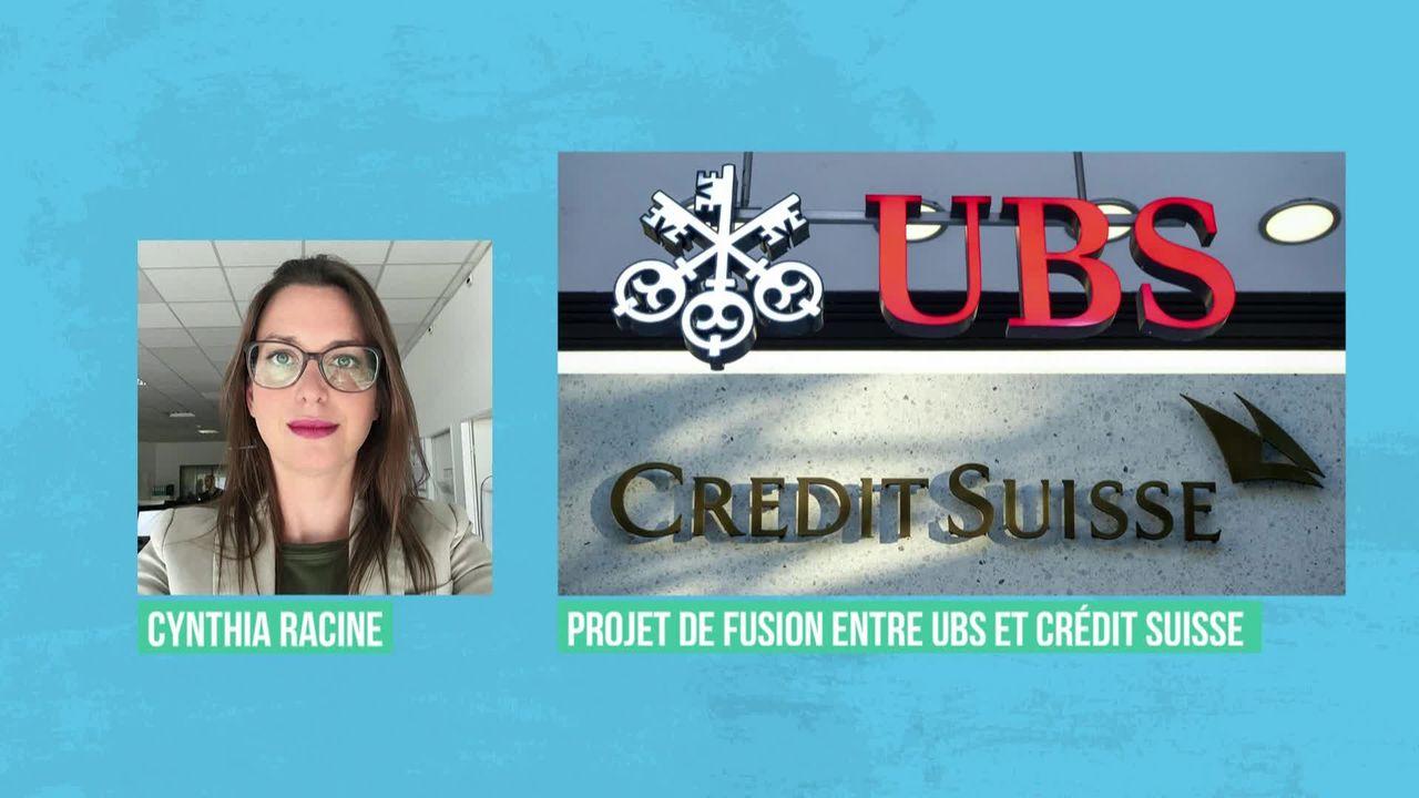 Rumeurs de fusion entre UBS et Credit Suisse [RTS]