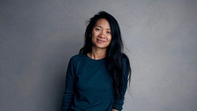 Cloé Zhao, en janvier 2018 à Park City, lors du Sundance Film Festival. [Keystone]