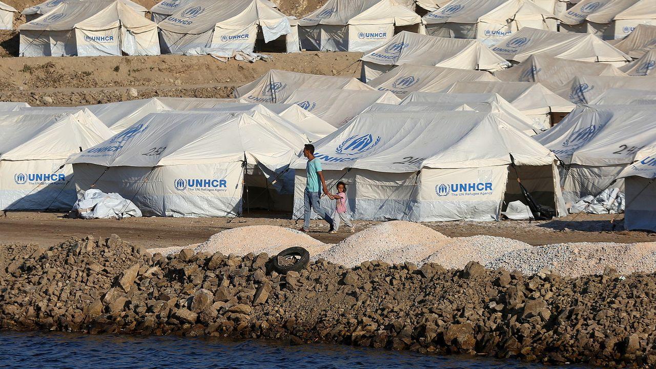 L'Allemagne prévoit d'accueillir 1500 migrants des îles grecques. [ORESTIS PANAGIOTOU - EPA]