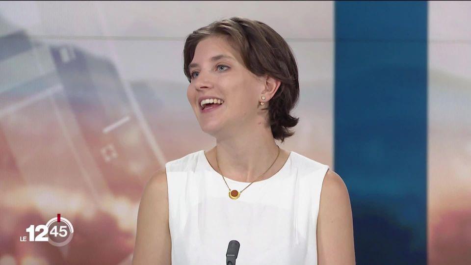 """Valérie Vuille: """" Il reste du chemin à faire, mais nous constatons une prise de conscience"""" [RTS]"""