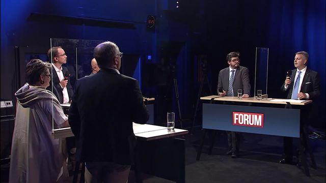 Débat sur la perspective d'une Suisse à 10 millions d'habitants [RTS]