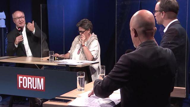 Débat sur la suite des discussions européennes en cas de non à l'initiative de limitation [RTS]