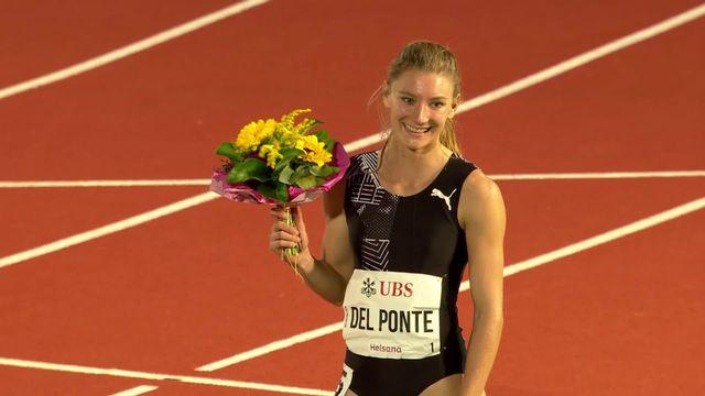 100m dames: Ajla Del Ponte (SUI) s'impose en 11.18 [RTS]