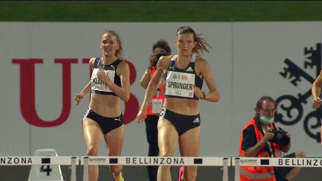 400m haies dames: Léa Sprunger seconde de sa série [RTS]