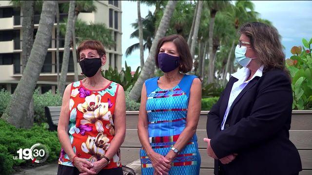 Donald Trump peine à convaincre les femmes dans l'état-clé de Floride [RTS]