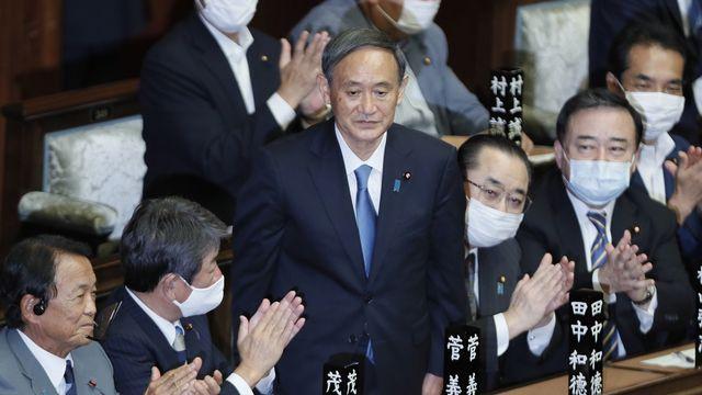 Fidèle de Shinzo Abe, Yoshihide Suga élu Premier ministre du Japon [Kimimasa Mayama - Keystone]