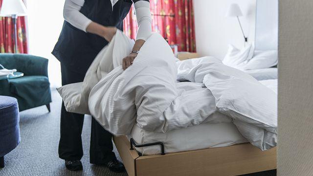 Le secteur de l'hôtellerie lémanique lance un appel à l'aide aux autorités du pays et des cantons. [Christian Beutler - Keystone]