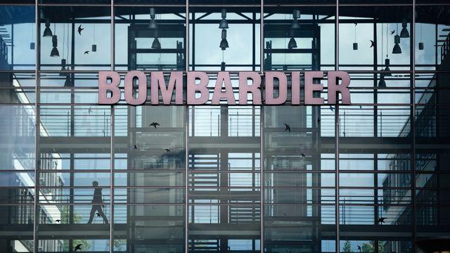 Bombardier a cédé à Alstom Bombardier Transport,  sa division ferroviaire. [Jens Schlueter - Keystone]