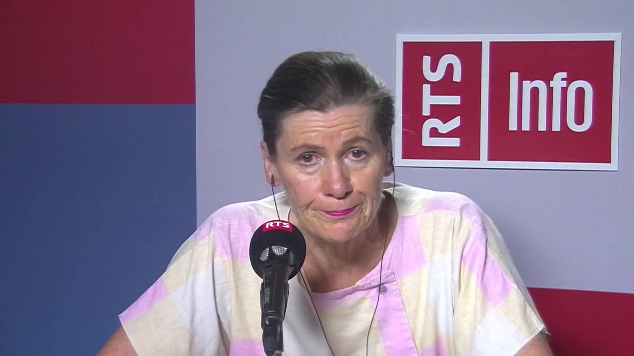 La conseillère communale neuchâteloise Christine Gaillard sous le feu des critiques, son interview [RTS]