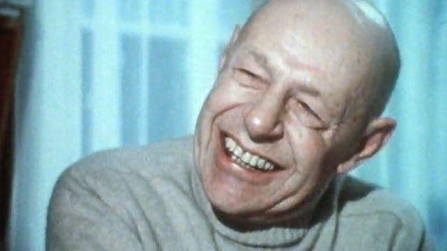 Jean Dubuffet en 1976 [RTS]