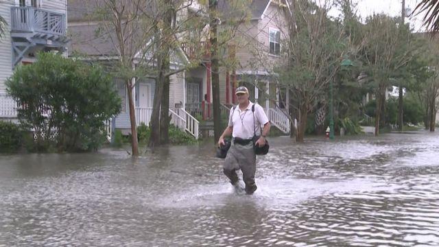 La tempête Sally s'abat sur le sud est des Etats-Unis provoquant de grosses inondations [RTS]