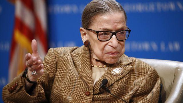 La doyenne de la Cour suprême américaine Ruth Bader Ginsburg est morte à 87 ans. [Patrick Semansky - AP]