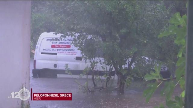 Ouragan en Grèce: deux morts et une disparue [RTS]