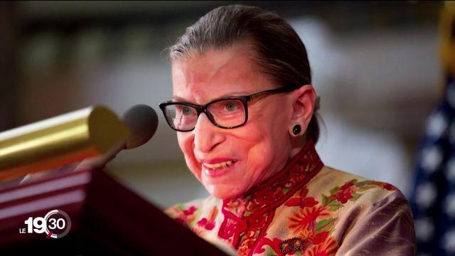 La juge progressiste de la cour suprême Ruth Bader Ginsburg est morte [RTS]