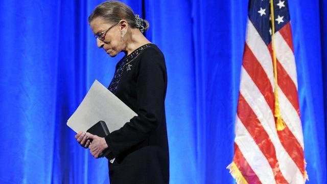 La défunte juge à la Cour suprême américaine Ruth Bader Ginsburg photographiée en 2011 à Washington. [AP Photo/Cliff Owen - Keystone]